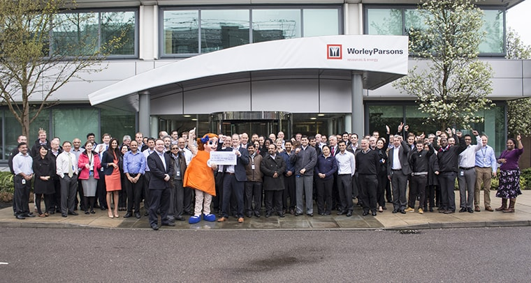 Corporate Fundraising Group Photo