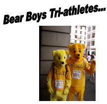 Bear Boys Tri-athletes...