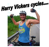 Harry Vickers cycles...