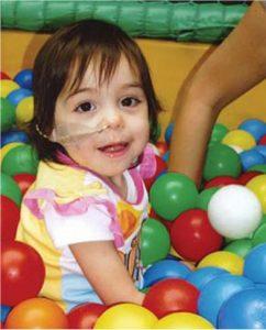 REACT Children's Charity - Little Girl